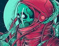 Space Alien Skull