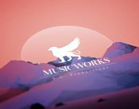 Music Works • Branding