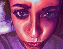 portrait of debora