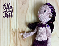 knitted dolls By Olly Kit