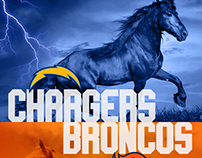 Chargers x Broncos - NFL game