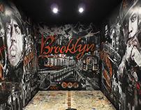 Brooklyn Mural Installation