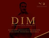 Camiseta DIM 2018 II - propuesta libre -