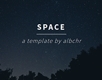 Space | a blog HTML5 & CSS3 Template