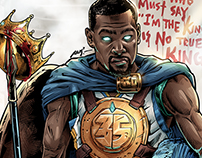 "Kevin Durant ""The Kingslayer (弒王者)"""
