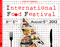 International Food Festival — Brochure + Poster