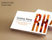 Cartão de visita - Cristina Viana