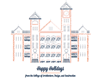 Auburn University Holiday Card 2012