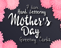 Dark cards for mother's day with your best wishes
