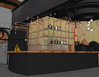 Interior Design - The Still Bar- Concept Proposal