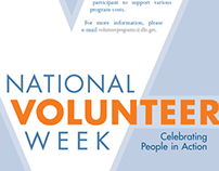 National Volunteer Week 2010 Poster