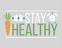 Stay Healthy, Motion Graphics.