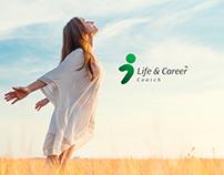 Life & Career Logo & Identity