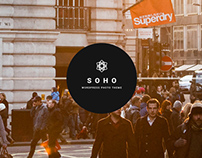 SOHO - Photo & Video WordPress Theme
