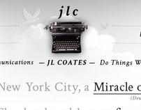 JLCoates Website Design