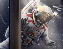 Souverein Weesp - Astronaut