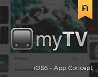 myTV - iOS6 Concept
