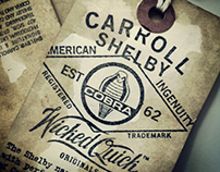 Carroll Shelby Collection : Artwork & Print Production
