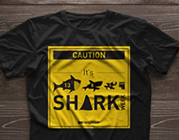Next Issue Shark's Week T-Shirt Design