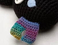MOJU 下雨的夜晚 / MOJU Knitting Dolls