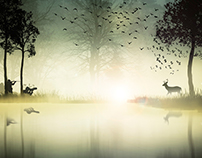 The Brave Deer