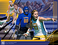 CAL Bears Womens Field Hockey Team Poster