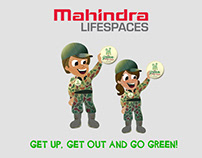Mahindra Lifespaces - 2D Motion Graphic Video