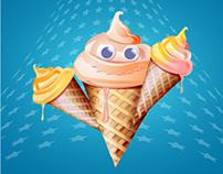 Free vector - ice cream cone