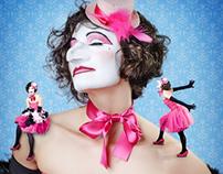 """Visuel show """"La Femme Fantasque"""""""