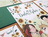 Wedding invitation - Duda & Giba