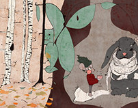 children`s book gnomi popomi // illustration