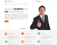 Minima, Joomla Responsive Business Corporate Template