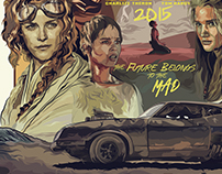 Mad Max Fury Road • Vector Art