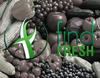 """""""Find Fresh"""" Branding"""