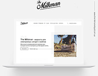 THE MILKMAN Web Site