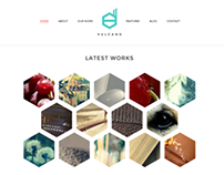 Vulcano - Creative HTML Theme