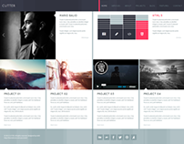 CUTTER - Responsive HTML Template