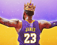 LeBron James Free Agency Illustrations