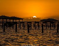 Light Rays Sunset Sequence