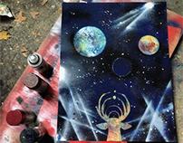 Spraypaint Astronomy