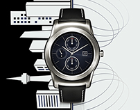 LG Watch Urbane Graphic AD Explorations