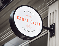 Canal Cycle Logo and Branding