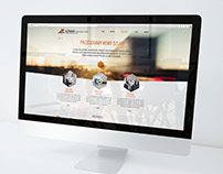 Graphics project of website for ILTRANS