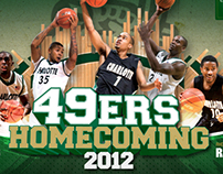 UNC Charlotte | Homecoming Branding 2012
