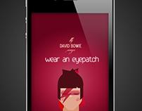 wear an eyepatch