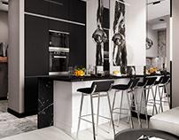 Monochrome apartments