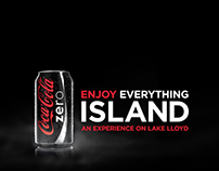 Coke Zero Enjoy Everything Island