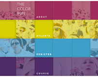 Print to Web | The Color Run Atlanta Website