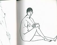 人體速寫 body sketch