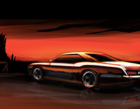 Buick Riviera Painting